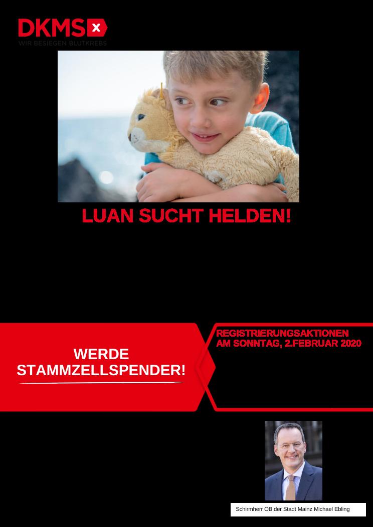 LUAN SUCHT HELDEN!